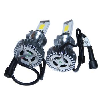 Светодиодные лампы головного света LED C-3 40W встроенный радиатор с вентилятором 3800 Люмен