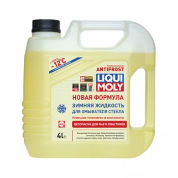 Жидкость стеклоочистителя зимняя ANTIFROST Scheibenfrostschutz - 12C 4л Liqui Moly 02006