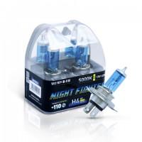 Лампа галогенная AVANTECH Night Fighter H4 12V 55W 5000K
