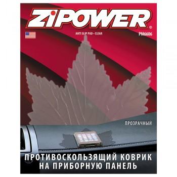 Противоскользящий коврик на приборную панель, черный PM6606
