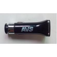 Автомобильное зарядное устройство AVS с 2 USB портами UC-122 2400мA A78973S