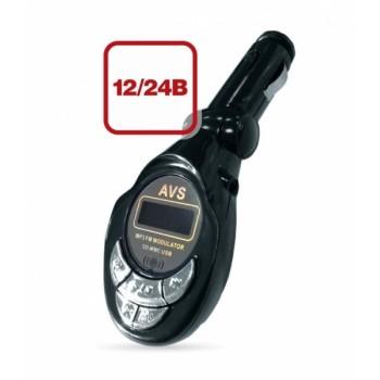USB MP3 плеер + FM трансмиттер с дисплеем и пультом AVS F-508S