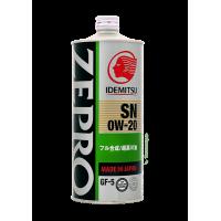 Масло моторное ZEPRO ECO MEDALIST  1л.  0W-20 SN/GF-5