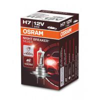 Автолампа галогенная Osram H7 Night Breaker Silver +100% (1 шт) 64210NBS