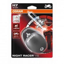 H7 12V 55W PX26d NIGHT RACER 110 + 110% больше света 2шт. (1к-т) Osram 64210NR1-02B