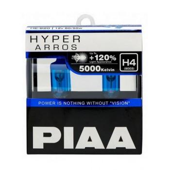 Галогеновые лампы PIAA Н4 HYPER ARROS (5000K) HE-920
