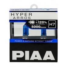 Галогеновые лампы PIAA  H7 HYPER ARROS 5000K