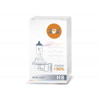 Лампа галогенная SVS H8 12V 35W Standard +30%  0200008000