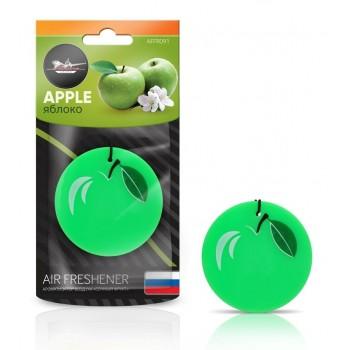"""Ароматизатор подвесной AIRLINE пластик """"Сочный фрукт"""" яблоко AFFR091"""