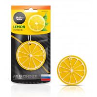 """Ароматизатор подвесной AIRLINE пластик """"Сочный фрукт"""" лимон AFFR092"""
