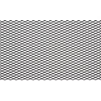 Сетка для защиты радиатора 15 мм  120*40 см, черная (1 шт.)