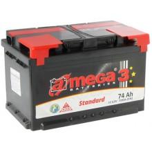 Аккумулятор A-MEGA Standart 74 Ah 720 A