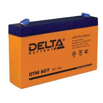 Аккумуляторная батарея Delta DTM 607  7 Ач  6 В