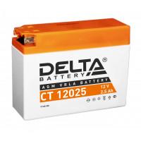 Аккумуляторная батарея Delta CT12025   2.5 Ач 12 В