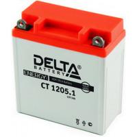 Аккумуляторная батарея Delta 5 А/ч 12В CT1205.1  Полярность: обратная (-  +)