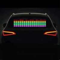 Эквалайзер на заднее стекло 90х10 пятицветный