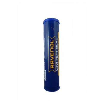 Смазка RAVENOL LKW Fett Blau 0,4 л. 4014835768543