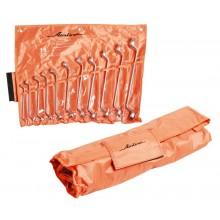 Набор ключей накидных 11 предметов, сумка AT-11-13