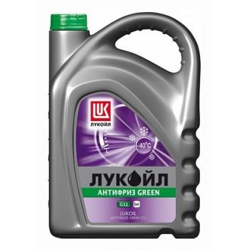 Антифриз Лукойл G11 Green зеленый (5кг) 227386