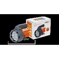 Фонарь аккум. прожектор LEDx16 с батареей 6В 2,4Ач AFL-16S-04