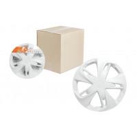 Колпаки колесные 16 дюймов Супер Астра, белый, карбон 2шт. AWCC-16-03