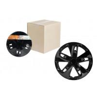 Колпаки колесные 16 дюймов Супер Астра, черный глянец, карбон 2шт AWCC-16-04