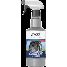 Чернитель бамперов и шин LAVR Black Tire Conditioner matt effect с триггером, 500мл Ln1401