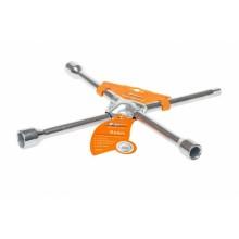 Ключ балонный крестовой (усиленный) 17*19*21*1/2 AK-B-02
