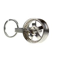 """Брелок для ключей """"Колесный диск"""" ПР032196"""