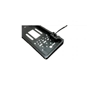 Камера в рамке номерного знака Е-319 + сенсоры парковки + дисплей