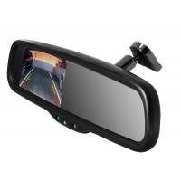 Зеркало с монитором на штатном креплении 4,3 дюйма.