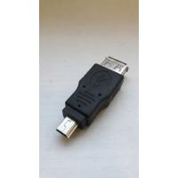 """Провод-переходник """"Мама USB to miniUSB"""""""