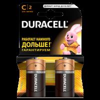 Батарейки DURACELL Basic C  алкалиновые 1.5V LR14 2 шт. 81545437