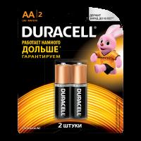 Батарейки DURACELL Basic AA алкалиновые 1.5V LR6 2 шт. 81528136
