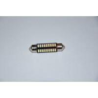 Светодиодная лампа C5W 41мм 18SMD (3014) 12В Canbus