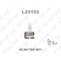 Лампа LYNXauto H2 24V 70W L25155