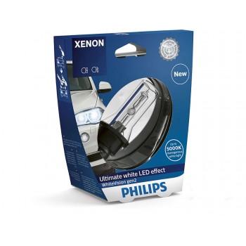 Лампа ксеноновая PHILIPS WhiteVision gen 2 D1S 85V 35W 85415WHV2S1