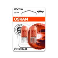 Лампа OSRAM WY5W 12V W2,1x9,5d 2шт. 282702B