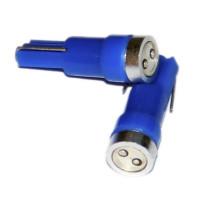 Светодиодная лампа T5  12V синий