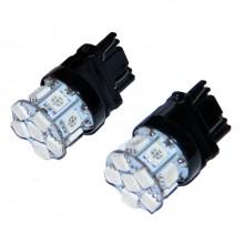 Светодиодная лампа T25 W27/7W 3157   12V красный