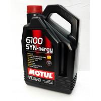 Моторное масло Motul 6100 Syn-Nergy 5W-30 4 л.  107971