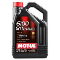 Моторное масло MOTUL 6100 SYN-CLEAN 5W-40 4 л  107942