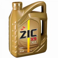 Моторное масло ZIC X9 5W-40 4л синтетическое 162613
