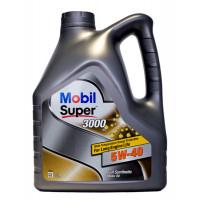 Моторное масло Mobil Super 3000 5W-40 4л, 152061