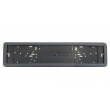 Рамка металлическая антивандальная черная, белая, хром  YFX8065