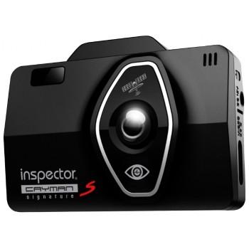Видеорегистратор + радар-детектор INSPECTOR CAYMAN S Signature