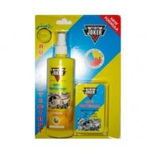 Полироль очист. пластика с губкой JOKER Лимон 8116