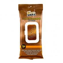 Салфетка влажная для очистки и восстановления кожи 30шт. GOLDEN SNAIL  GS0401