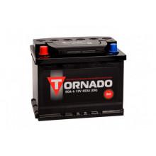 Автомобильный аккумулятор Tornado 60 Ач 480 А