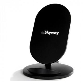 Беспроводное зарядное устройство Qi Skyway Flash, черный